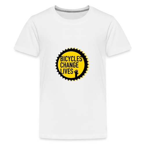 BCL Shirt Back Black - Teenage Premium T-Shirt