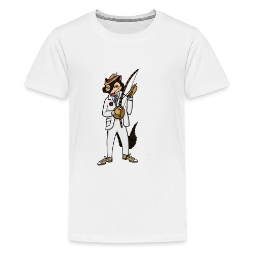 Capoeira Malandro | Trickster Capoeira - Teenage Premium T-Shirt