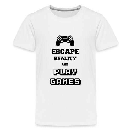 Play Games - T-shirt Premium Ado
