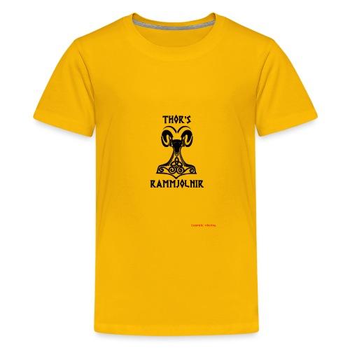 THOR's-RAMMjolnir - T-shirt Premium Ado