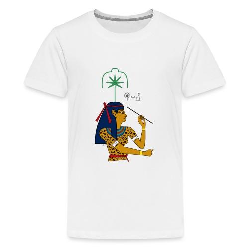 Seschat – altägyptische Göttin - Teenager Premium T-Shirt