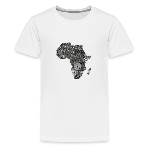frica png - Teenage Premium T-Shirt