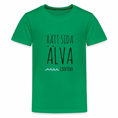 Rätt sida Älva - Premium-T-shirt tonåring