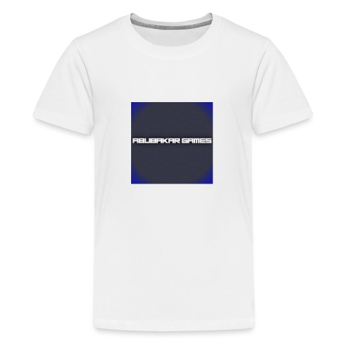 backgrounder 6 - Teenage Premium T-Shirt