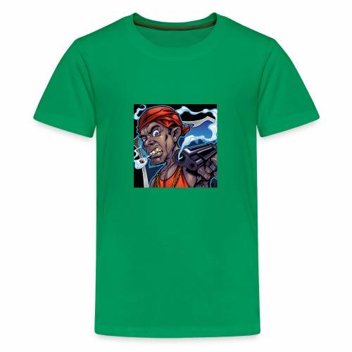 Crooks Graphic thumbnail image - T-shirt Premium Ado