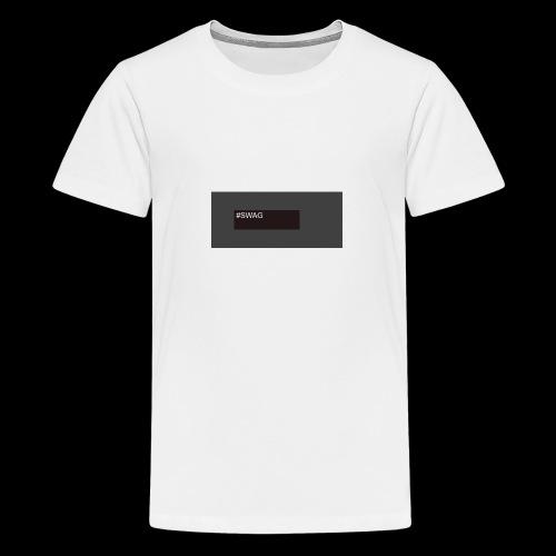 My first shirt - Teenage Premium T-Shirt