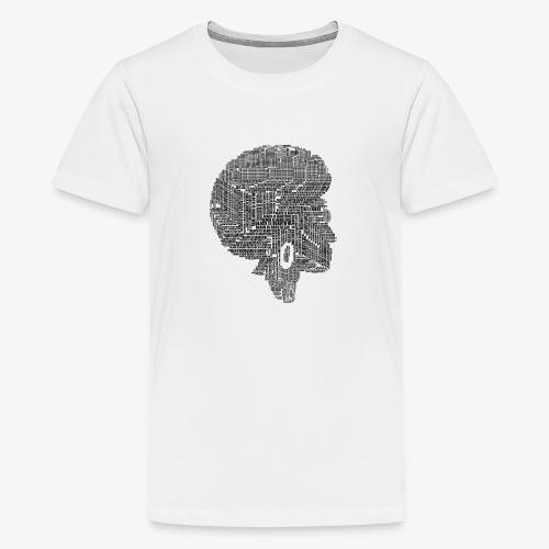 Black Is Beautiful Afro - T-shirt Premium Ado