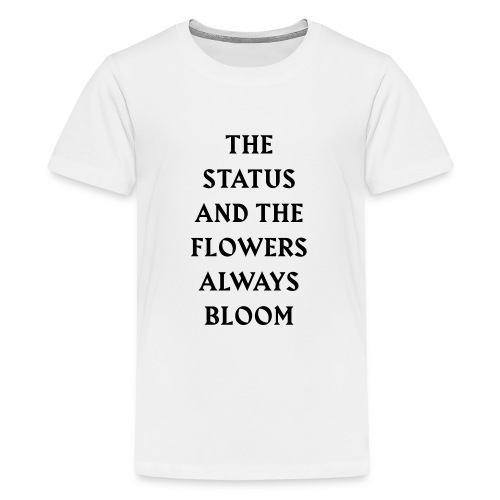bloom2 - Teenage Premium T-Shirt