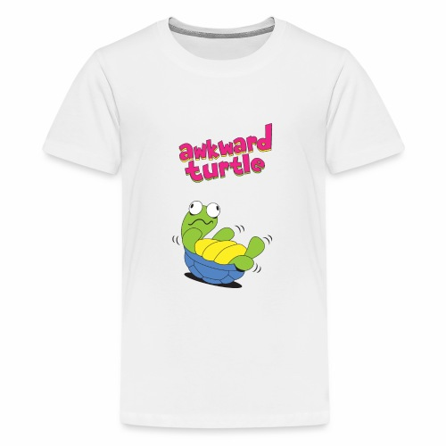 Akward Turtle (FFF) - Teenage Premium T-Shirt