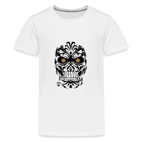 Mexican Skull - T-shirt Premium Ado