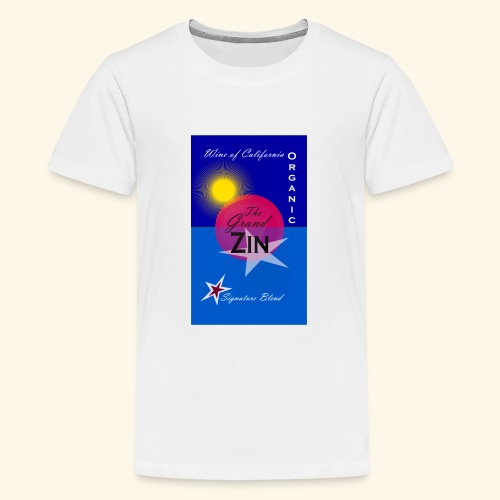 wine at playa summernight - Premium-T-shirt tonåring