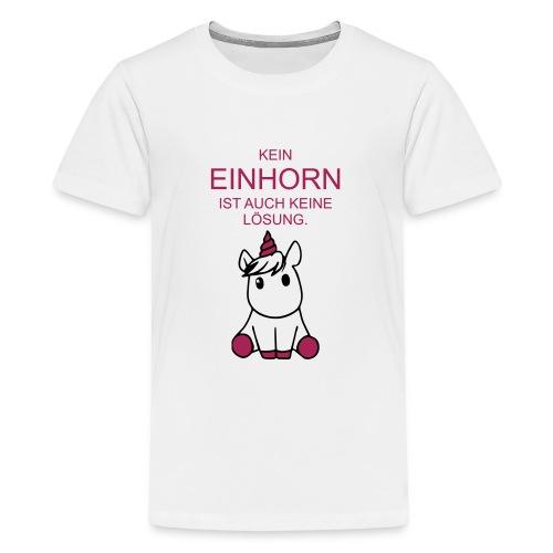 EINHORN - Teenager Premium T-Shirt