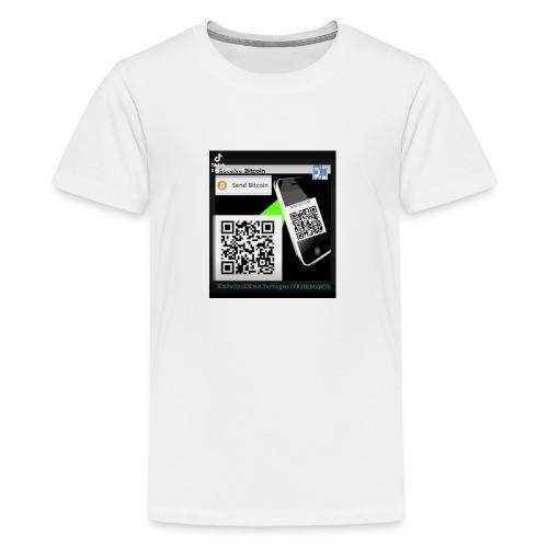 Bitcoin - Koszulka młodzieżowa Premium