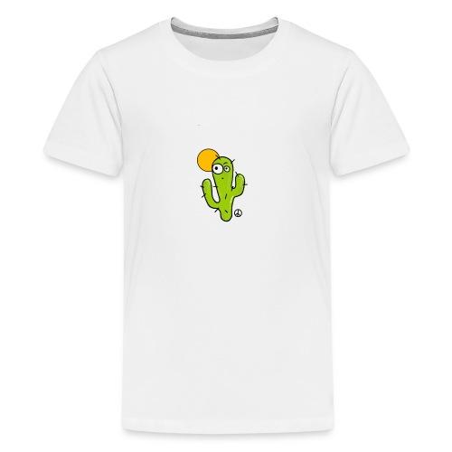Cactus Cartoon - T-shirt Premium Ado
