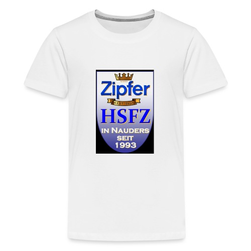 hsfz2013logofront orig - Teenager Premium T-Shirt