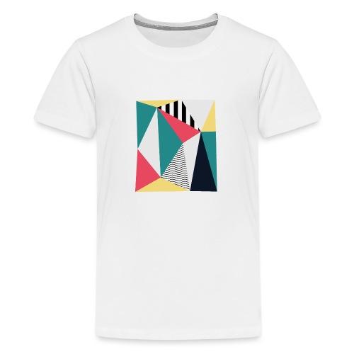 Triangulos - Camiseta premium adolescente