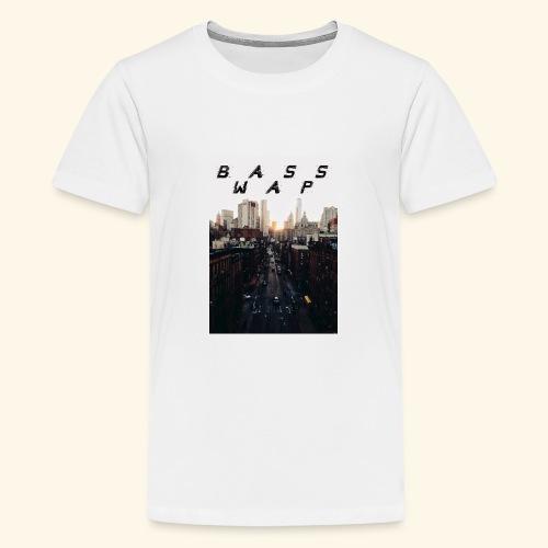 B A S S W A P - Teenage Premium T-Shirt