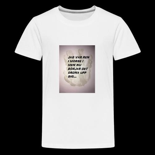 SKITUNGE - Premium-T-shirt tonåring
