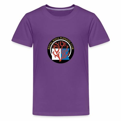 Royal Wolu Plongée Club - T-shirt Premium Ado