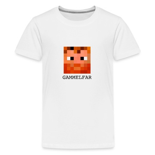 Gammelfar logo - Teenager premium T-shirt