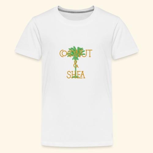Coconut & Shea - Teenage Premium T-Shirt