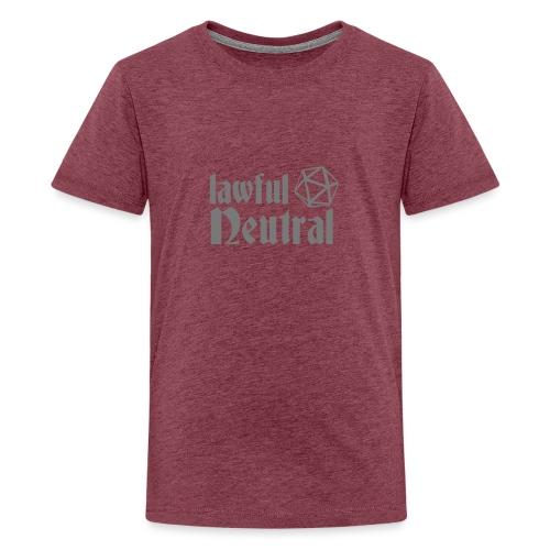 lawful neutral - Teenage Premium T-Shirt