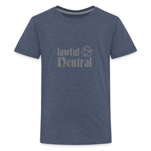 lawful neutral - Teenage Premium T-Shirt