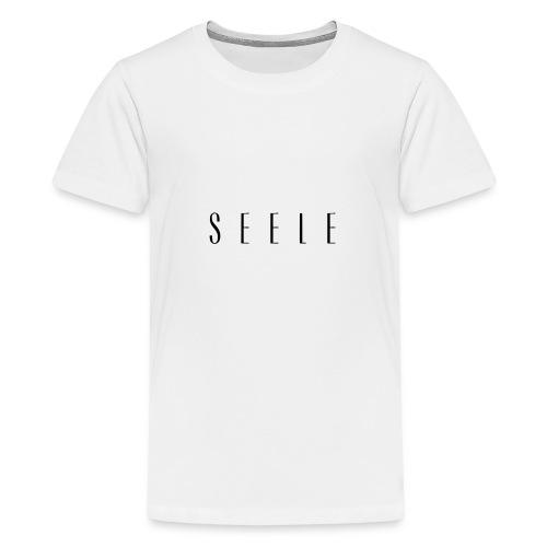 SEELE - Text Cap - Teinien premium t-paita