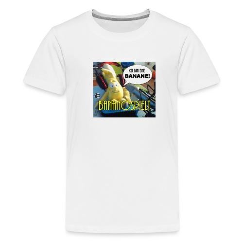 bananoKPB jpg - Teenager Premium T-Shirt