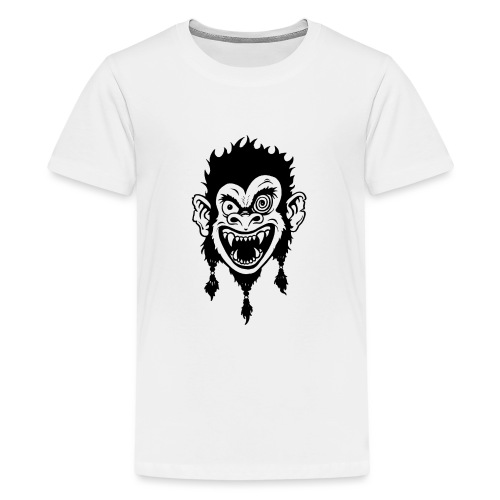 Crazy Monkey - Teenager Premium T-Shirt