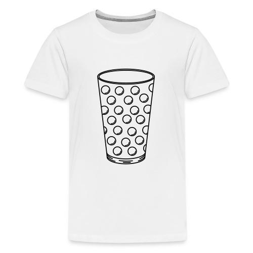 Dubbeglas - Teenager Premium T-Shirt