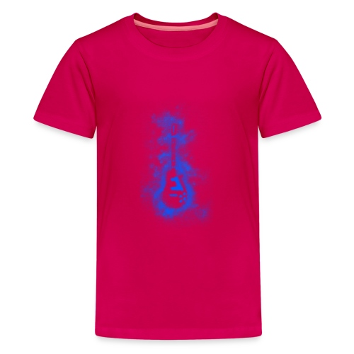 Blue Muse - Teenage Premium T-Shirt