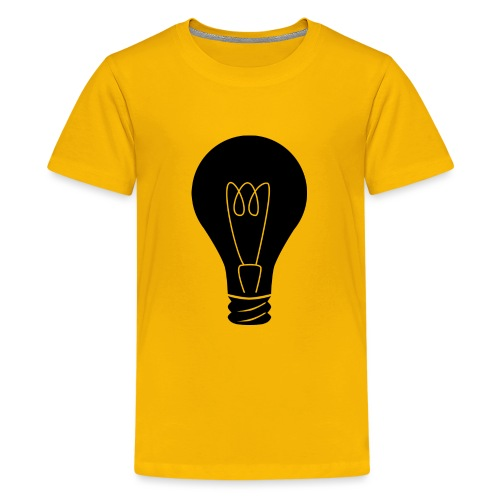 Glühbirne - Teenager Premium T-Shirt