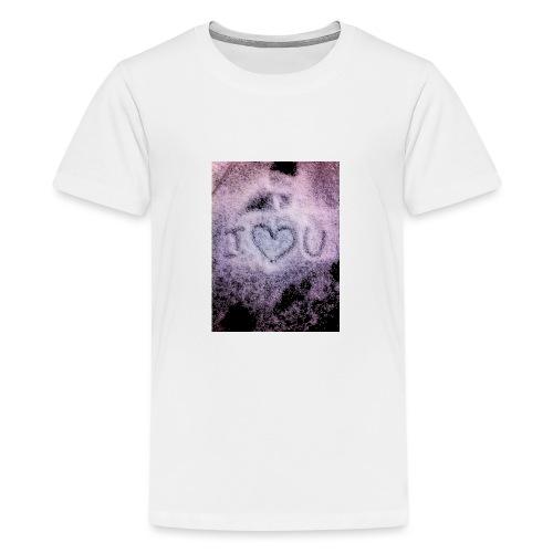 Ich liebe dich - Teenage Premium T-Shirt