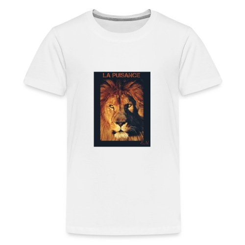 Der Löwe - Teenager Premium T-Shirt