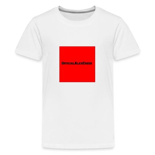 Official Alex Crees merch - Teenage Premium T-Shirt