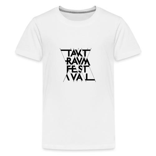 ttf logo schwarz - Teenager Premium T-Shirt