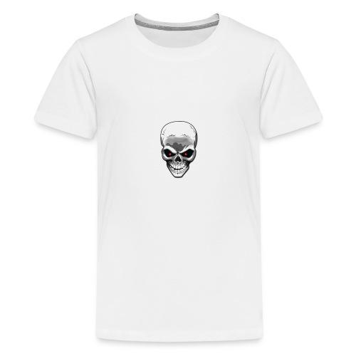 Skull logo - Teenage Premium T-Shirt