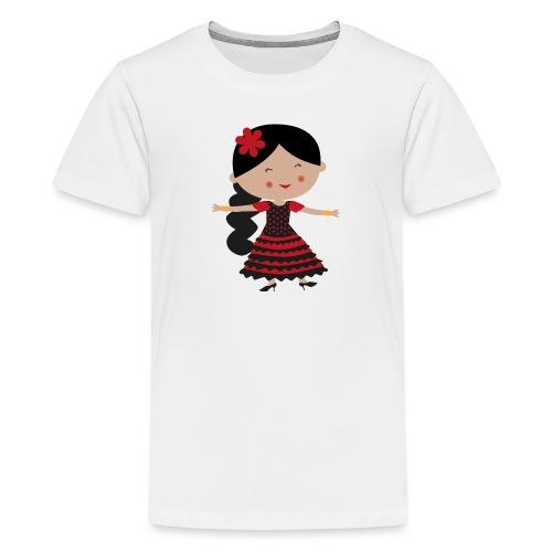Happy Meitlis - Spanien - Teenager Premium T-Shirt
