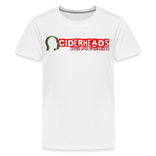 ciderheads logo transpara - Teenager Premium T-Shirt