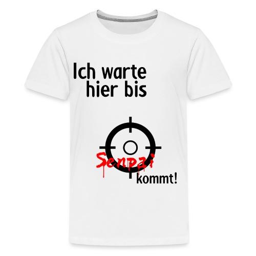 Warten auf Senpai 2v2 - Teenager Premium T-Shirt