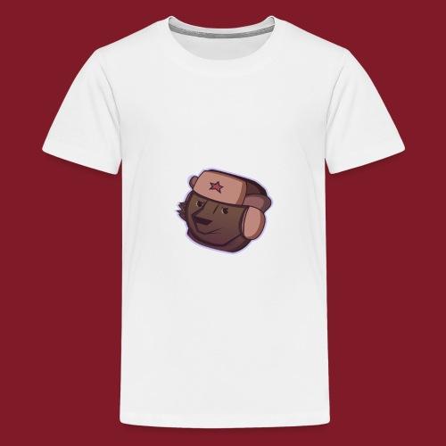 Russian Bear - T-shirt Premium Ado