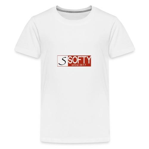 Softy - Premium-T-shirt tonåring