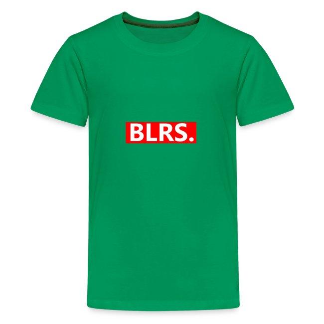 BLRS. red frame