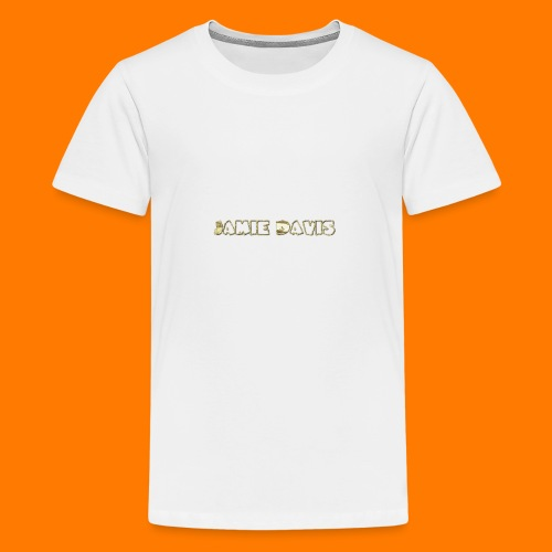 Gold Bar - Teenage Premium T-Shirt