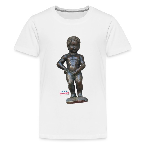 BiG REAL mannekenpis ♀♂ | 小便小僧 - T-shirt Premium Ado