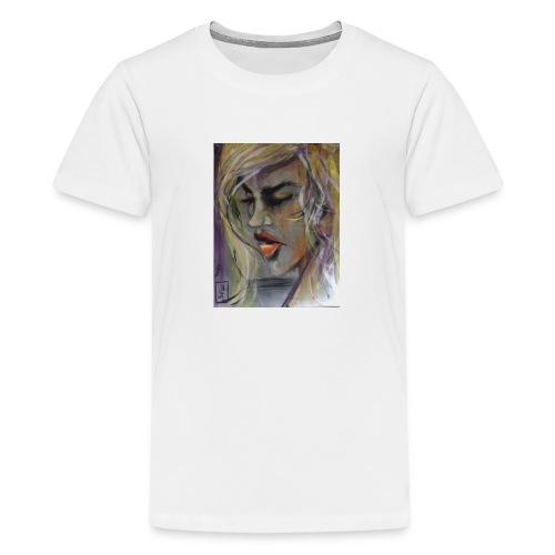 20160831 070257000 iOS Tänker - Premium-T-shirt tonåring