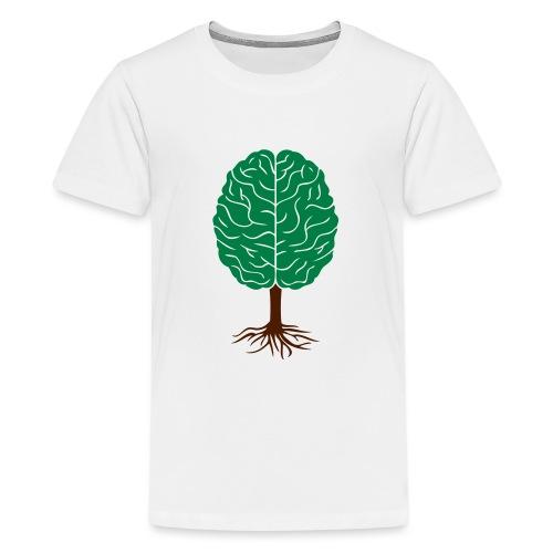 Brain tree - Teenager Premium T-shirt
