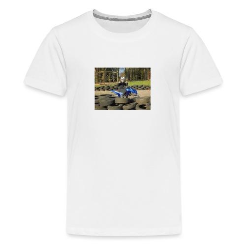 the new ashdab21 logo - Teenage Premium T-Shirt