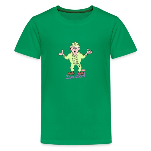 patame Zwuckel Rosa - Teenager Premium T-Shirt